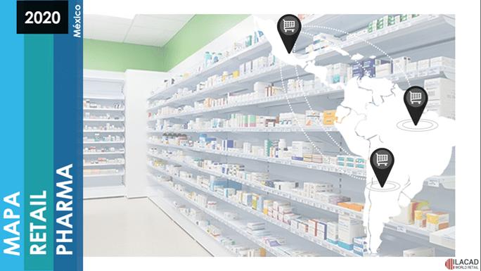 Mapa Retail Pharma México 2020 (Actualizado)