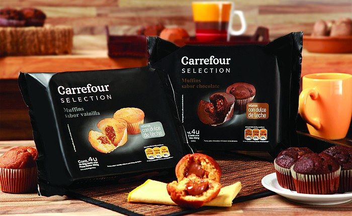 Carrefour Argentina relaunched the image of its private label products